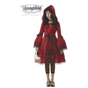 Little Red Riding Hood Gothic Teen Costume Sz S